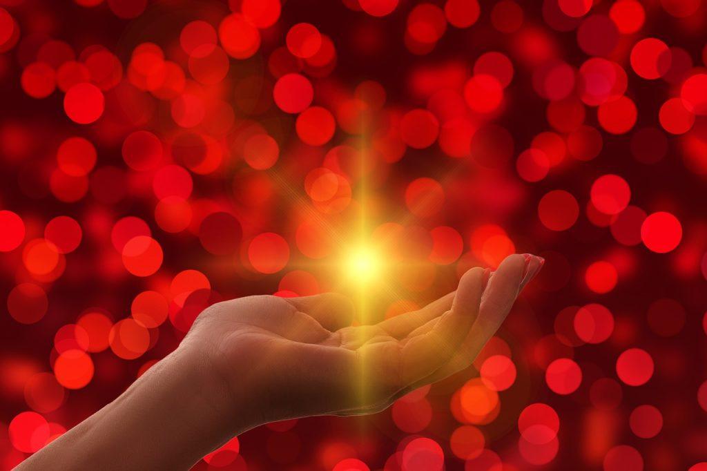 豊かさの光