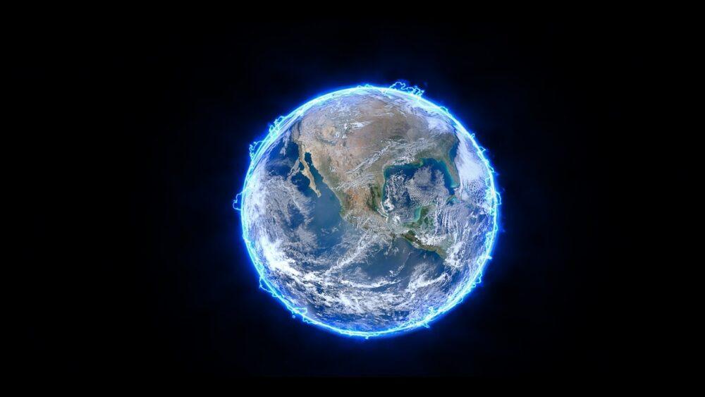 地球のオーラ
